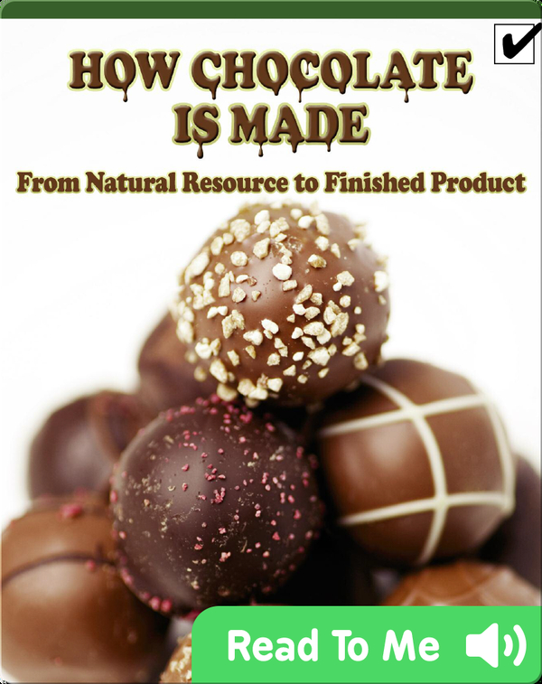 How Chocolate Is Made: From Natural Resource to Finished Product