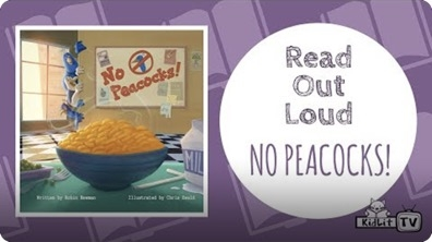 Read Out Loud: No Peacocks!