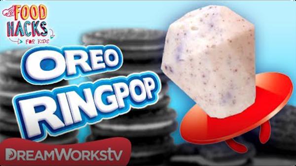Cookies n Creme Ringpop + More Oreo Hacks | FOOD HACKS FOR KIDS