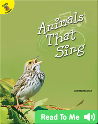 Animals That Sing