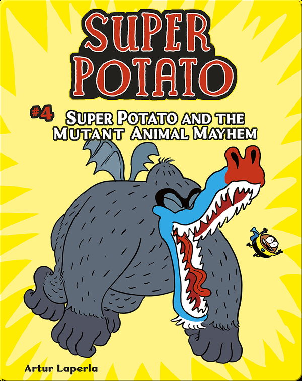 Super Potato and the Mutant Animal Mayhem: Book 4