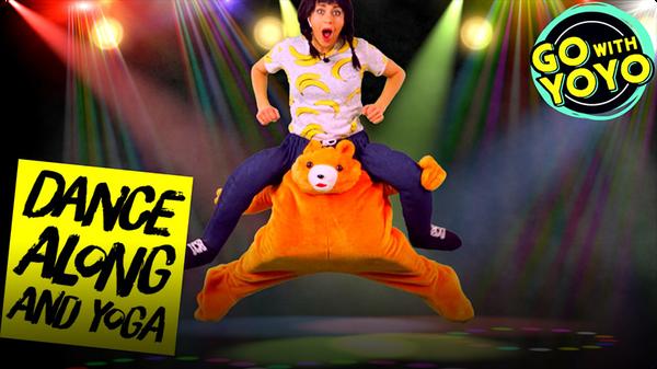 GO With YOYO: Dance Along and Yoga!