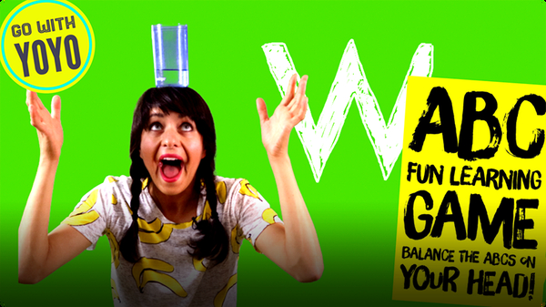 GO With YOYO: ABC's on My Head! Balance Game