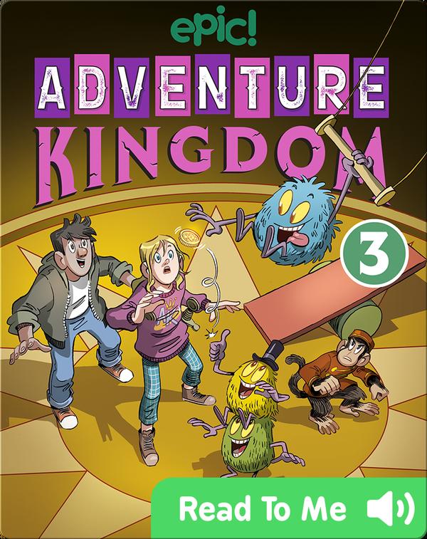Adventure Kingdom Book 3: Trains, Tails, and Traitors!