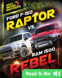 Ford F-150 Raptor vs. Ram 1500 Rebel