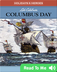 Let's Celebrate: Columbus Day