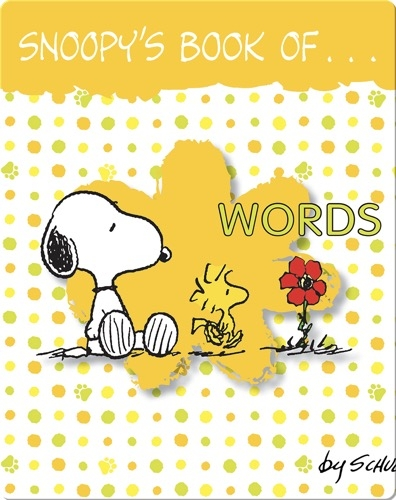 Snoopy's Book of Words