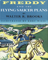 Freddy #25: Freddy and the Flying Saucer Plans