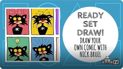 Ready Set Draw! Draw Comics with Nick Bruel
