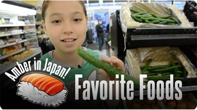 Amber in Japan | My Favorite Foods