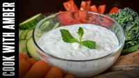Minty Yogurt Dip | Cook With Amber
