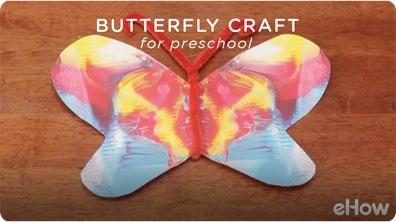 Butterfly Craft Activities for Pre-Kindergarten
