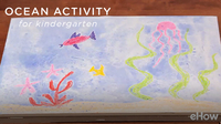 Kindergarten Ocean Activities & Crafts