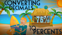 Converting Decimals to Percents