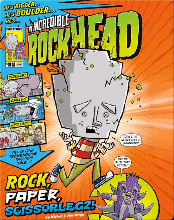 The Incredible Rockhead #1-4: Rock, Paper, Scissorlegz!