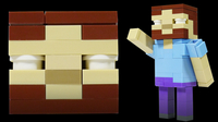 How to Build LEGO Minecraft Herobrine