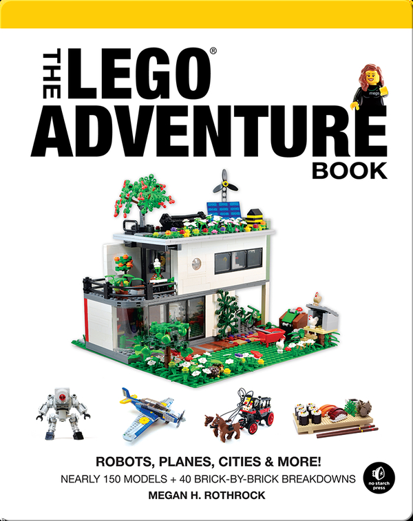 The LEGO Adventure Book, Volume 3: Robots, Planes, Cities & More!