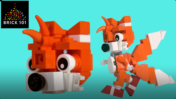 How To Build LEGO Tails
