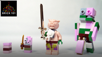 How To Build LEGO Minecraft Zombie Pigman