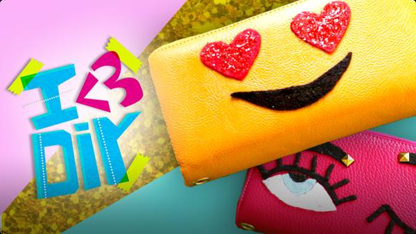 DIY Emoji Purse + more! | I ♥ DIY
