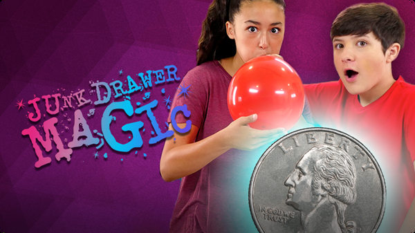 Coin in Balloon Trick | JUNK DRAWER MAGIC