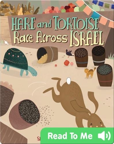 Hare and Tortoise Race Across Israel