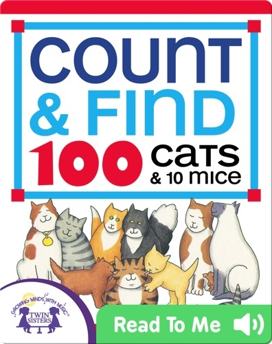 Count & Find 100 Cats & 10 Mice