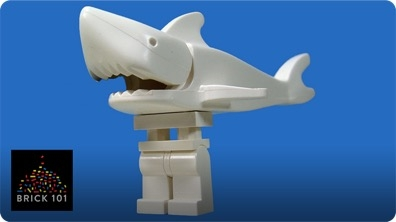 How To Build a LEGO Legshark