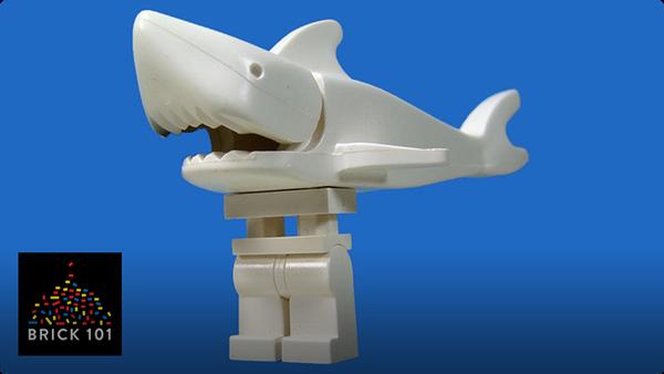 How To Build a LEGO Legshark