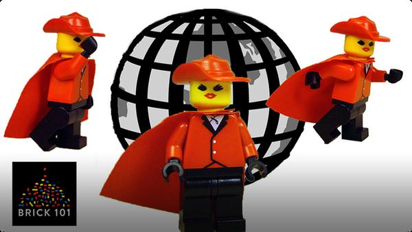 How To Build LEGO Carmen Sandiego