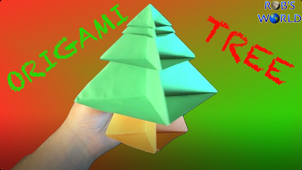 How to Make an Origami Tree