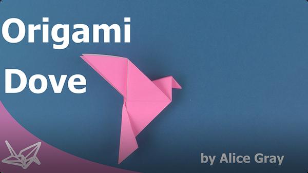 Origami Peace Dove