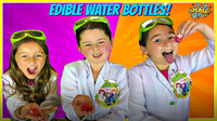 DIY Edible Water Bottle You Can EAT!  Make Your Own Edible Water Bottle