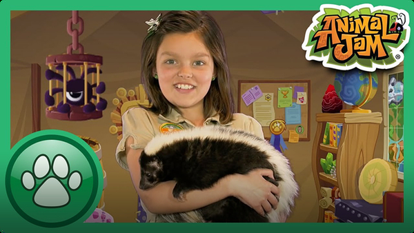 Cami Meets a Skunk!