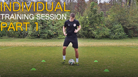 Individual Training Session Part 1 | Improve Footwork Fast
