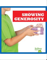 Building Character: Showing Generosity