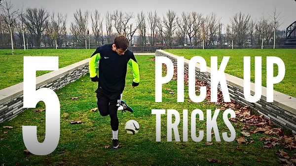 5 Pick-Up Tricks Every Football/Soccer Freestyler Should Know!!