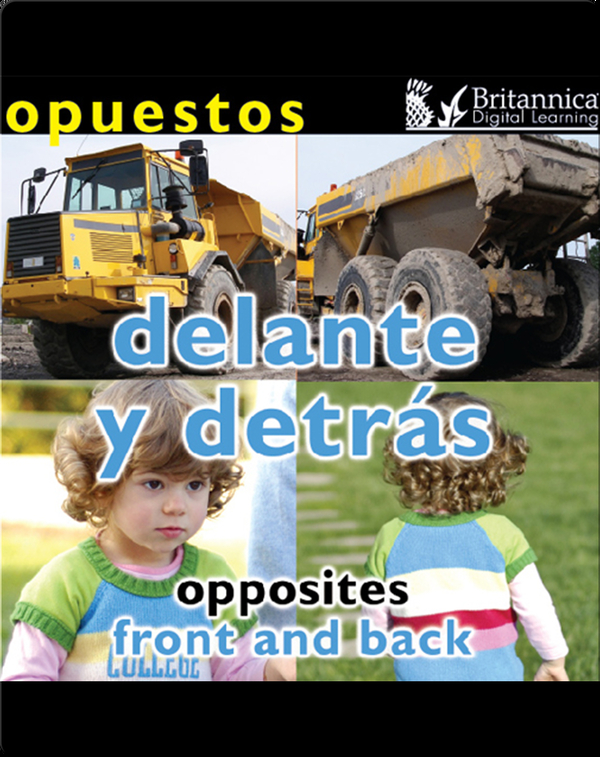 Opuestos: Delante y detrás (Opposites: Front and Back)