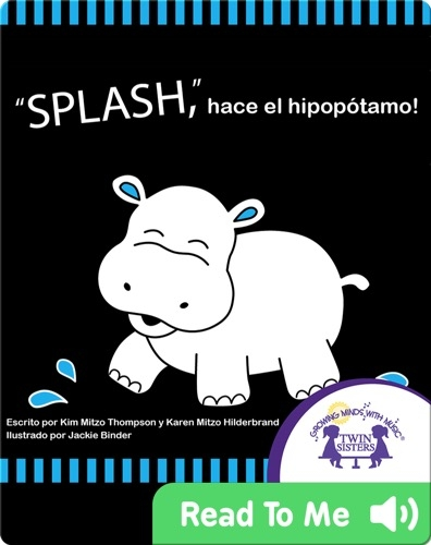 SPLASH, goes the hippo!