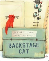 Backstage Cat
