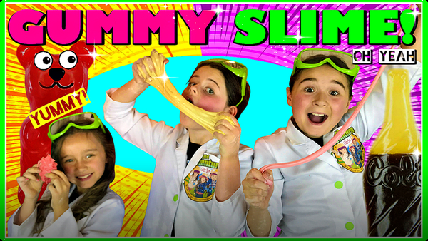 Learn How to Make Edible Slime Candy!