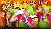 Learn How to Make Edible Reese's Slime!