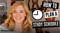How to Plan Your Ideal STUDY SCHEDULE! | Science of Study