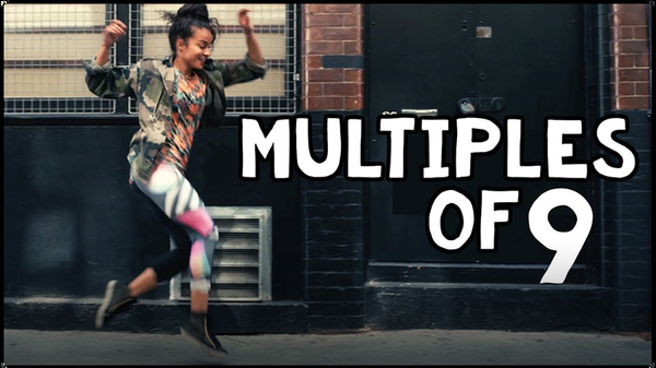 Multiply by Nine with Parkour