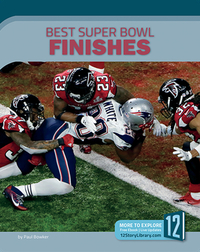 Best Superbowl Finishes
