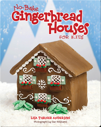 No-Bake Gingerbread Houses for Kids