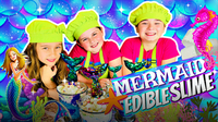 How to Make DIY Edible Mermaid Slime Candy!