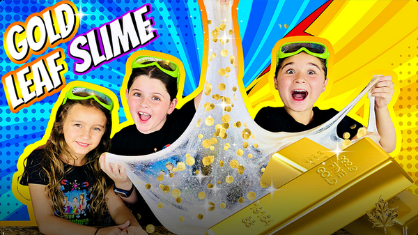 How to Make Slime Out of Real Gold!