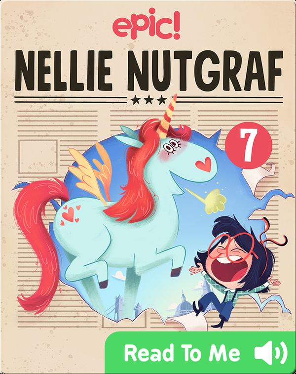 Nellie Nutgraf Book 7: The Big Scoop