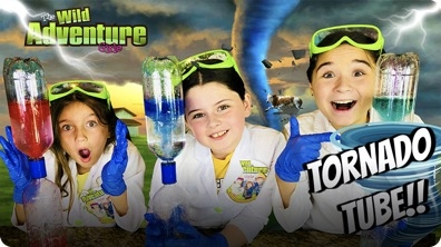 Tornado Tube Science Experiment!